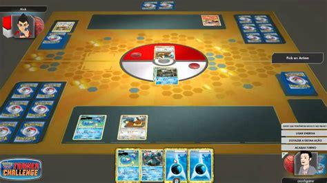 tutorial pokemon online pokemon tcg online tutorial b 225 sico no desafio do