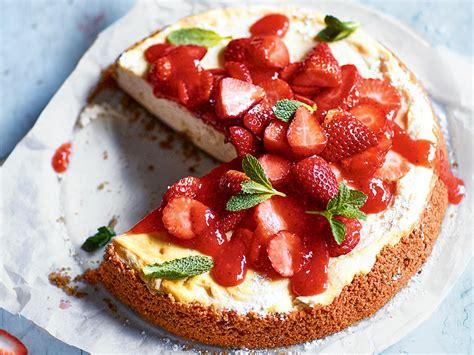 bio kuchen rezepte erdbeer cheesecake s k 06 2017