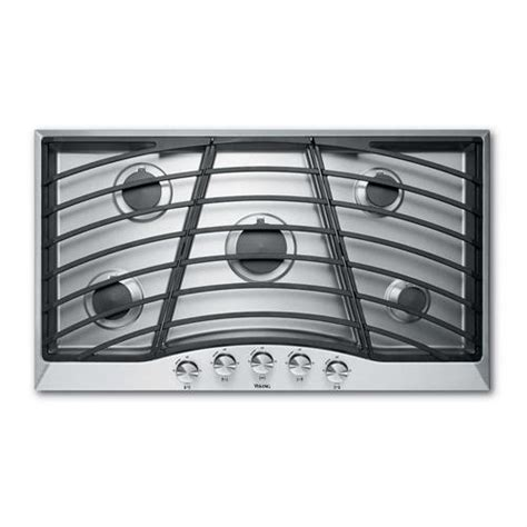 Viking Cooktop Designer Series Gas Continuous Grate Cooktop Dgsu From Viking