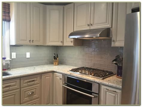Glass Backsplashes For Kitchens Pictures Glass Tile Kitchen Backsplash White Cabinets Tiles