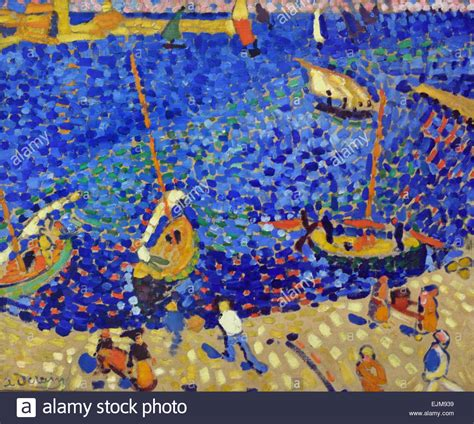 andre derain boats in the port of collioure boats at collioure bateaux 224 collioure 1905 andre derain