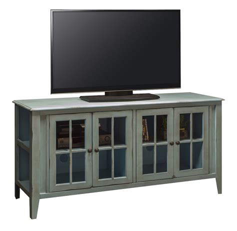 lg ca1251 rbl 64 quot calistoga turquoise blue tv stand painted tv consoles in arizona painted tv