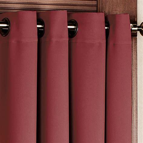 short grommet curtains ultimate blackout short grommet curtain panels