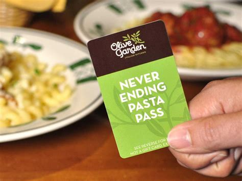 olive garden s endless pasta sells out business insider