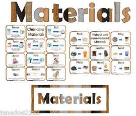 ks1 y2 science materials display resources heading