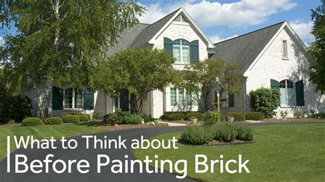 how to paint your house what to consider before painting your brick house