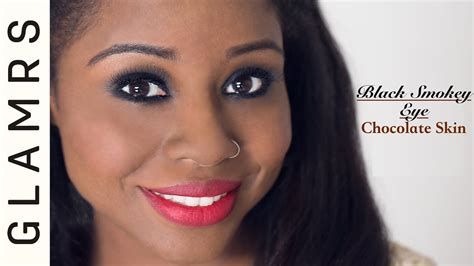 eyeliner tutorial glamrs sultry smokey eyes dark skin makeup tutorial youtube