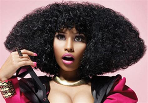 puffy woman curly hair 35 super sexy nicki minaj hairstyles creativefan