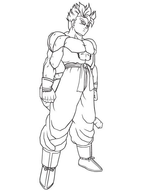 dragon ball character coloring page h m coloring pages dragon ball z super saiyan cartoon coloring page h m