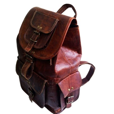 Backpack Handmade - plh8a vintage rita leather backpack handmade 18 quot