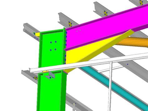 design portal frame exle cad detail of portal frame haunch diagrams drawings