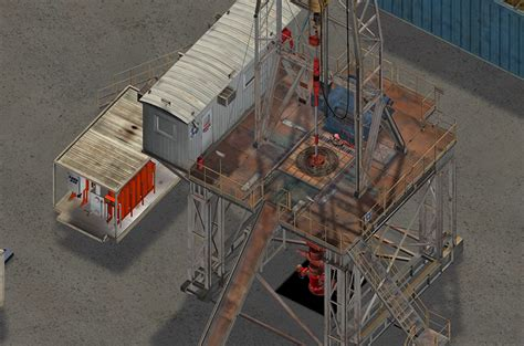 land rig layout drilling technology courses oil and gas e learning using vr