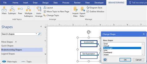 change shape in visio microsoft visio customizing topic shape style and layout
