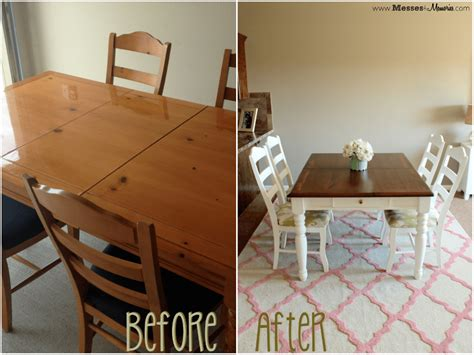 Before And After A Dining Room Table Makeover Popsugar Home Dining Table Remodel On A Budget