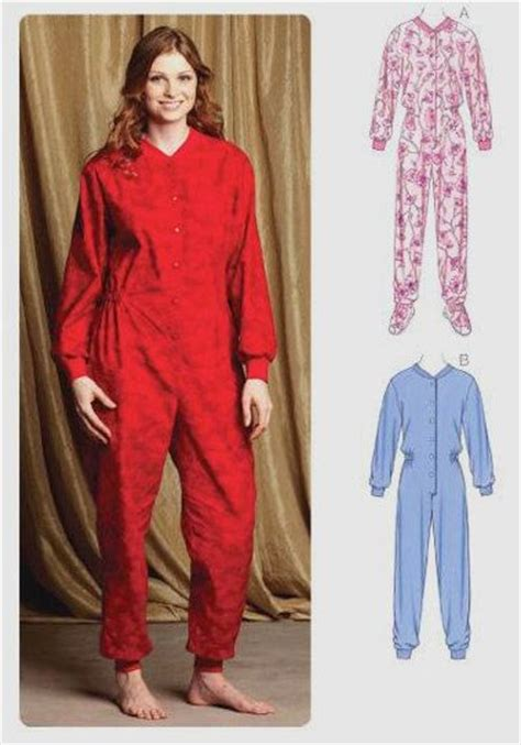 sewing pattern onesie pajamas footed pajamas sewing pattern one piece pjs with without