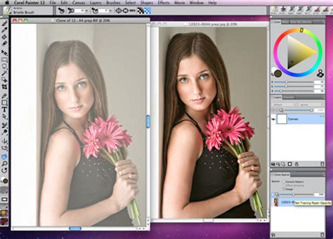 tutorial coreldraw photo paint 12 portrait painting simplified corel discovery center