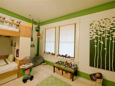 green theme bedroom woodland themed boy s room hgtv