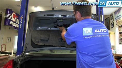 how to replace third brake light how to remove install 3rd center mounted brake stop light