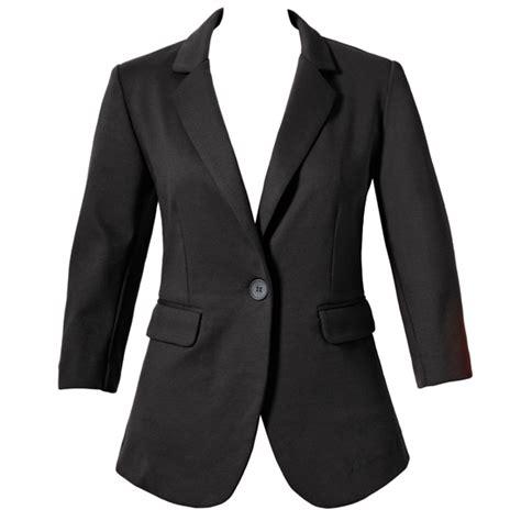 Blazer Salur List Black s ponte or jacquard blazers