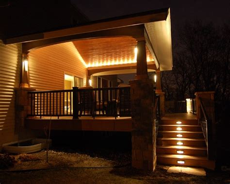 Cover Lights For The Home Pinterest Covered Patio Lighting Ideas