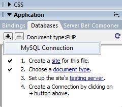 membuat database php dengan xp cara membuat koneksi database php mysql dengan dreamweaver