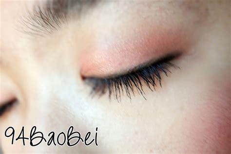 Efblue Thick Curl Maskara Waterproof review san san waterproof thick lash mascara