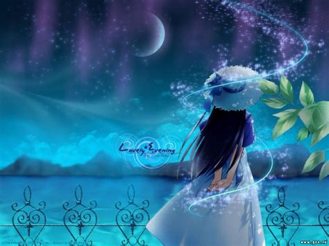 manga lovely evening wallpapers w3 directory wallpapers