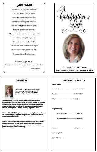 programs for memorial services sles everything you need to about creating a funeral