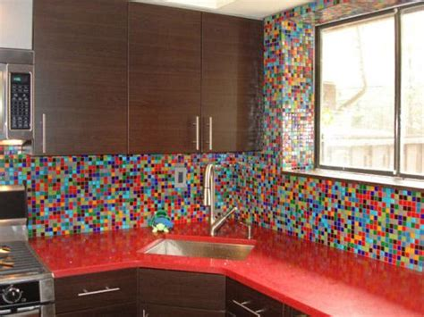 Funky Kitchen Ideas Funky Mosaic Tile Backsplash It Countertops Awesome And Mosaics