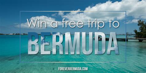 Free Trip Sweepstakes - sweepstakes offers free trip to us residents forever bermuda