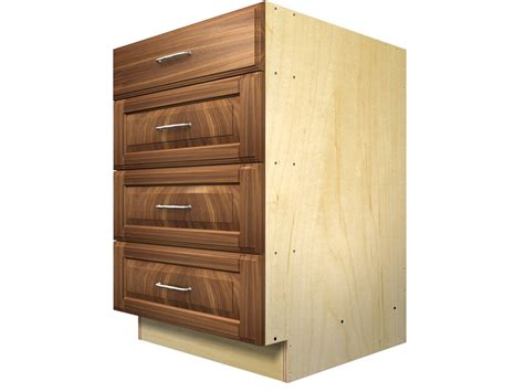 4 Drawer Kitchen Base Cabinet Base Cabinets Base Cabinets Kitchen Cabinetry San Francisco By Www Awesomehome Net