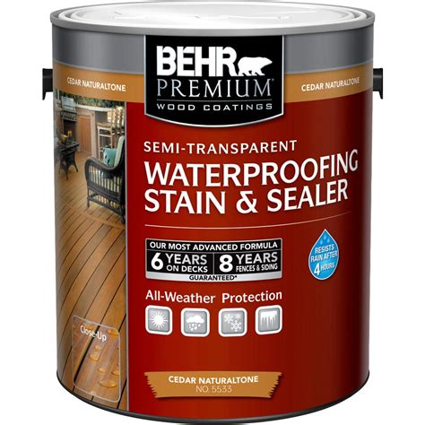 behr premium 1 gal cedar naturaltone semi transparent
