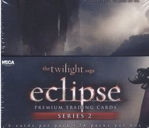 eclipse series 3 neca twilight eclipse series 2 trading cards box hill s