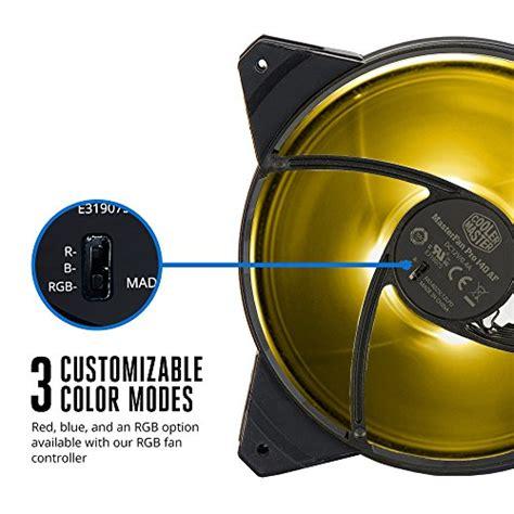 cooler master case fan 140mm cooler master masterfan pro 140 air flow rgb 140mm high