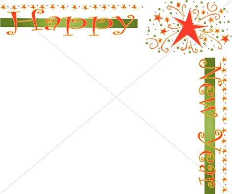 new year display borders happy new year border christian new years borders