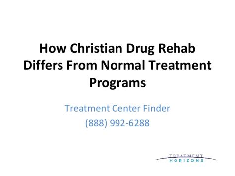 Christian Detox Rehab Centers by How Christian Rehab Differs From Normal Treatment