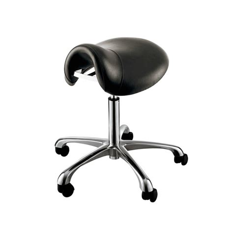 Hair Stylist Saddle Stool by Quot Hermes Quot Saddle Salon Stool With Cast Alloy Base Free