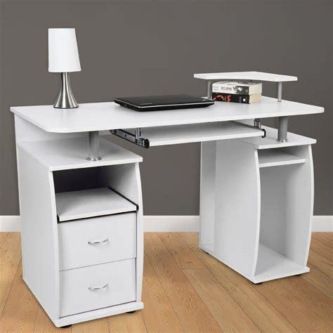scrivania per computer scrivania per computer makalu supporto per pc e ripiano