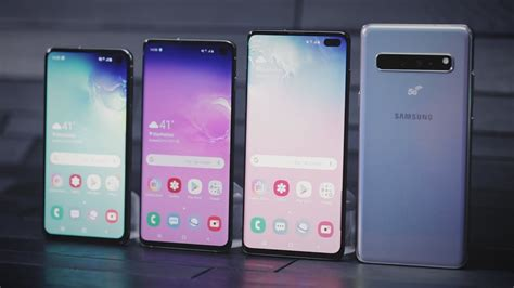 Samsung Galaxy S10 Models by Samsung S Galaxy S10 Lineup Arrives With Four New Models