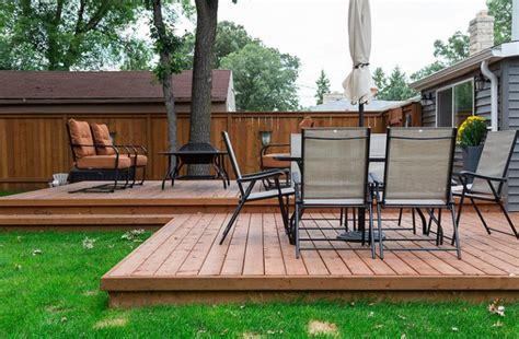 Building A Wood Deck Plans