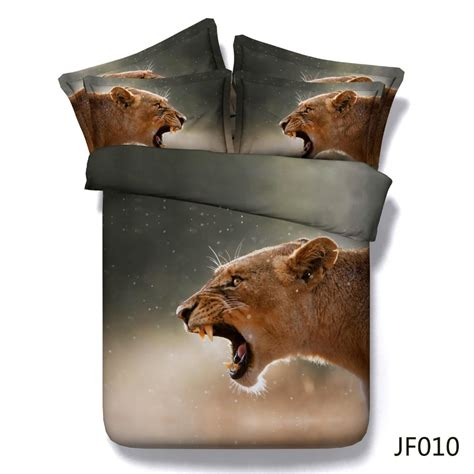 Bedcover Illusions Disperse 180 Japana jungle animals photo 3d bedlinen set view 3d bedding set royal linen source product