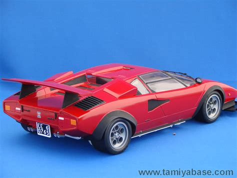 Lamborghini Countach Lp500s 58005 Tamiya Model Database Tamiyabase