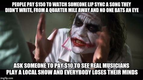 Local Memes - support local music imgflip