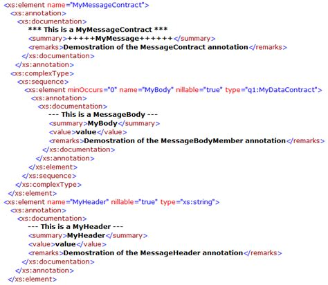 xml metadata tutorial exporting annotations from wcf codeproject
