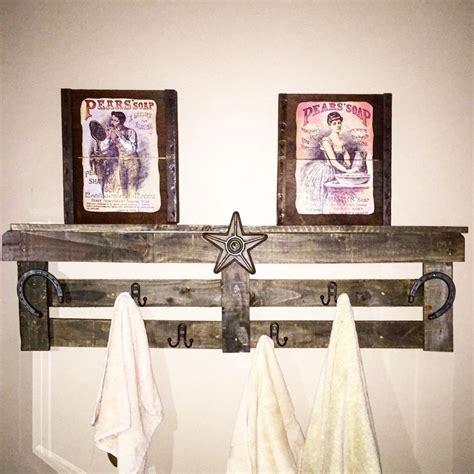 hometalk reclaimed wood pallet  towel holder