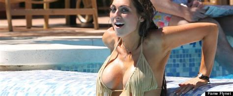 luisa zissman nearly falls out of her very low cut dress pics the apprentice s luisa zissman almost falls out of