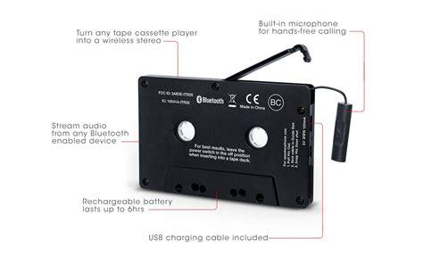 cassette adapter ion cassette adapter bluetooth receiver wireless adapter