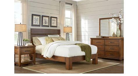 bedroom furniture browns plains urban plains brown 5 pc queen slat platform bedroom