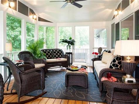 Decorating A Sun Porch by Sunroom Decorating Pictures Ideas Hgtv