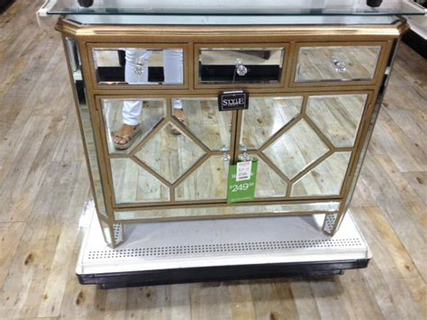 mirrored nightstand home goods collection of best home